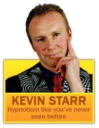 Kevin Starr who learnt loads from Royles Stage Hypnosis Course