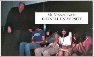 Mr. Vincent Comedy Stage Hypnotist