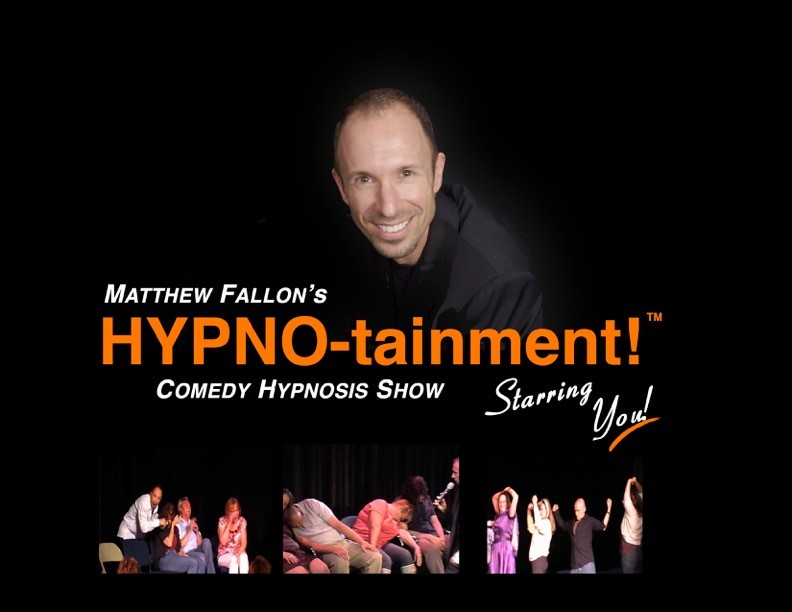 Matthew Fallon Hypno-Tainment Comedy Stage Hypnotist