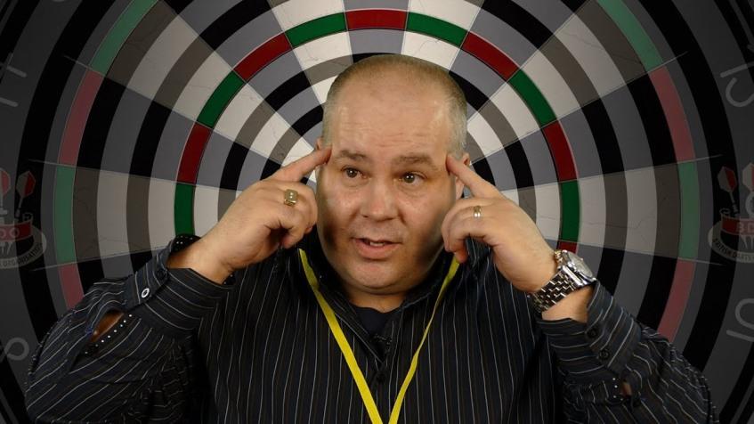 Stephen McKibben Famous Darts Hypnotist