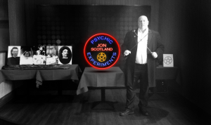 Jon Scotland Psychic Entertainer, Mesmerist and Hypnotist