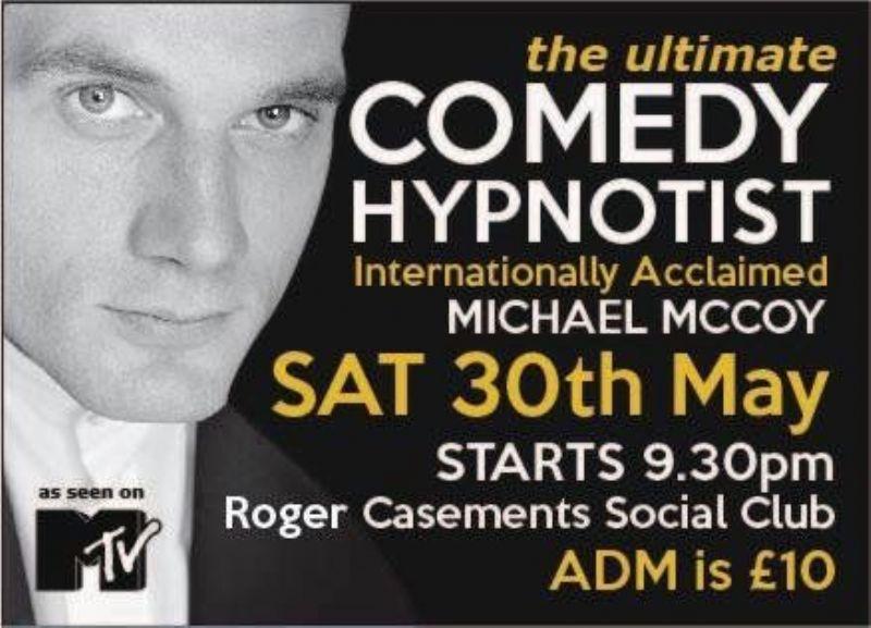 Michael McCoy Ireland based Hypnotist taught by Jonathan Royle