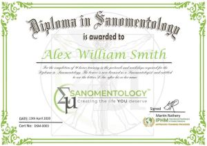 Sanomentology Hypnotherapy NLP Hypnosis Mind Therapy Diploma Course