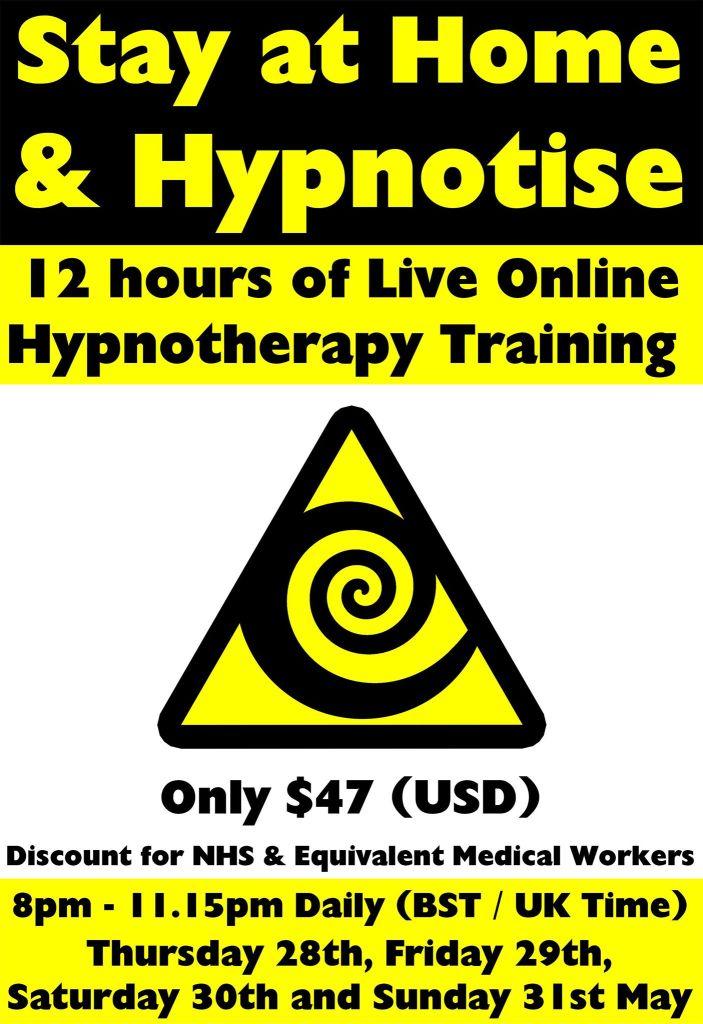 Live Online Hypnotherapy & NLP Hypnosis Training Seminar with Jonathan Royle Hypnotist