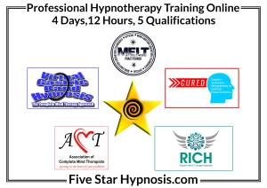 Five Star Hypnosis Course Hypnotherapy & NLP Mind Therapy Training