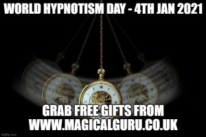 World Hypnotism Day 4th January 2021