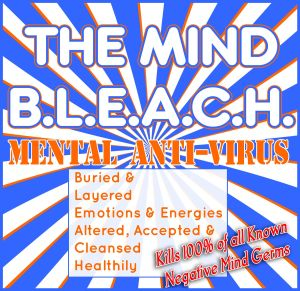 The Mind B.L.E.A.C.H. Mental Anti-Virus Buried & Layered Emotions & Energies Altered, Accepted & Cleansed Healthily