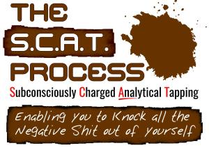 THE SCAT PROCESS Subconsciously Charged ANALytical Tapping (Enabling you to Knock all the Negative Shit out of yourself)