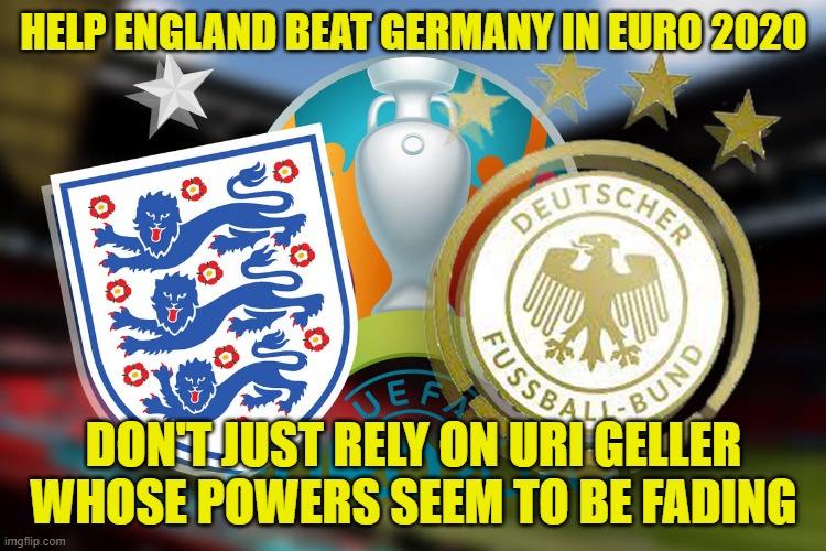 ENGLAND VERSUS GERMANY