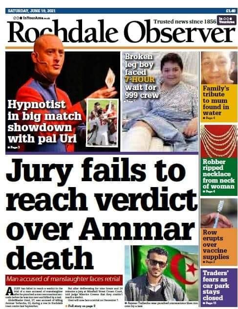 Rochdale Observer 19th June