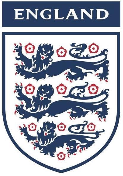 ENGLAND THREE LIONS BADGE