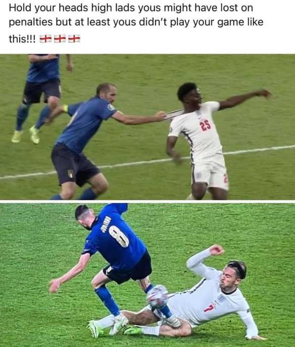 HOW ITALY PLAYED