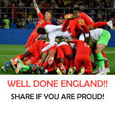 WELL DONE ENGLAND